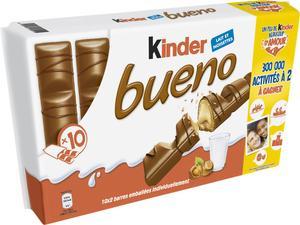 Paquet de 10 Kinder Bueno - 430gr