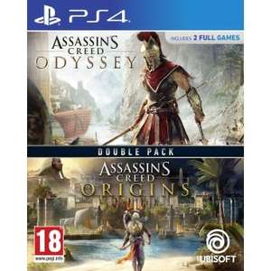 Bundle Assassin's Creed Odyssey + Assassin's Creed Origins sur PS4 (vendeur tiers)