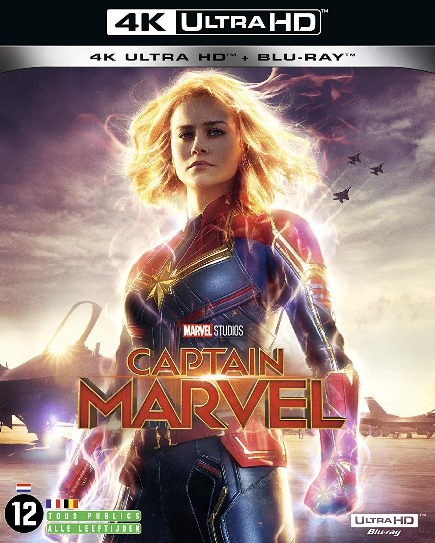 Sélection de Blu-ray 4K UHD Marvel en promotion - Ex : Captain Marvel (+ Blu-ray)