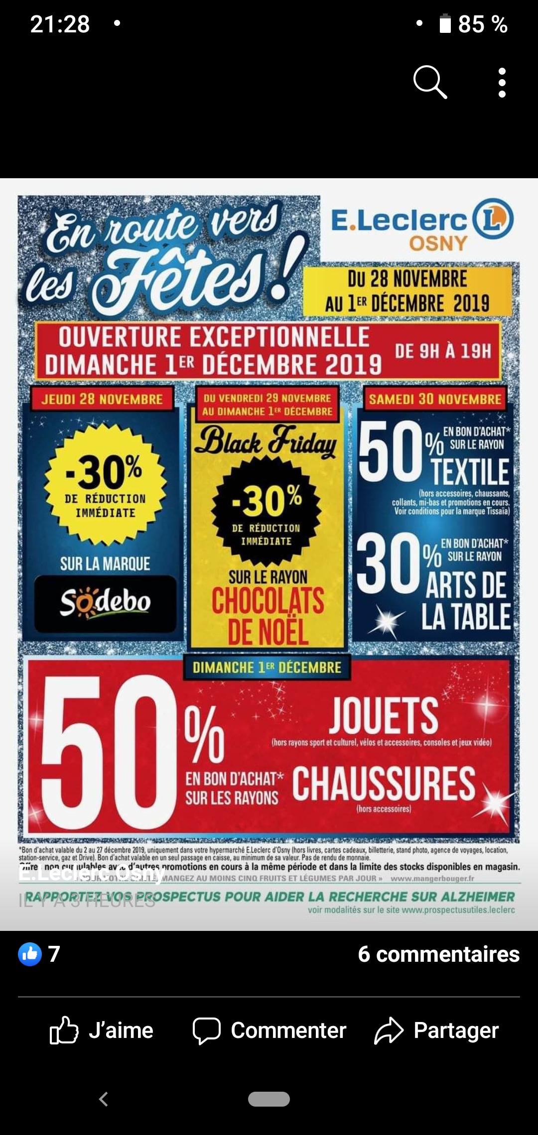 50% remboursés en bon d'achat sur le rayon Jouets (hors consoles, culturel, jeux vidéo et sport) - Osny (95)