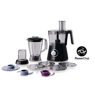 Robot de cuisine Philips HR7762/90 - 750 W