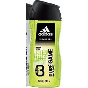 Lot de 2 Gels douche Adidas - 2 x 250 ml