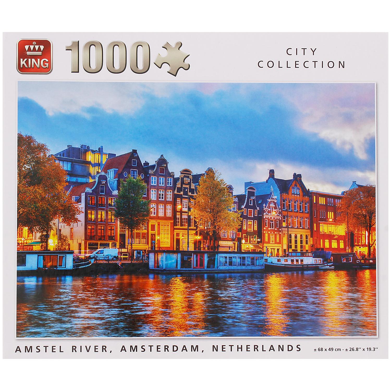 Puzzle de 1 000 pièces - Modèle au choix