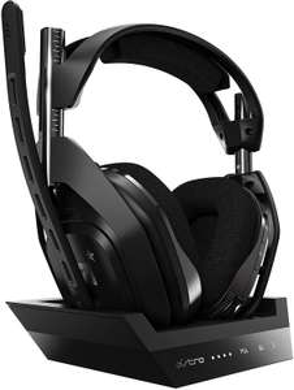 Casque Astro Gaming A50 + Station d'accueil 4e génération - Son Dolby Atmos, Compatible PC, PS4 et Xbox One