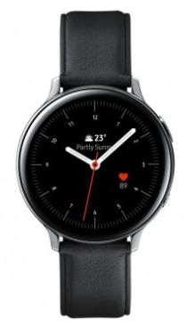 Montre connectée Samsung Galaxy Watch Active 2 - Acier argent noir