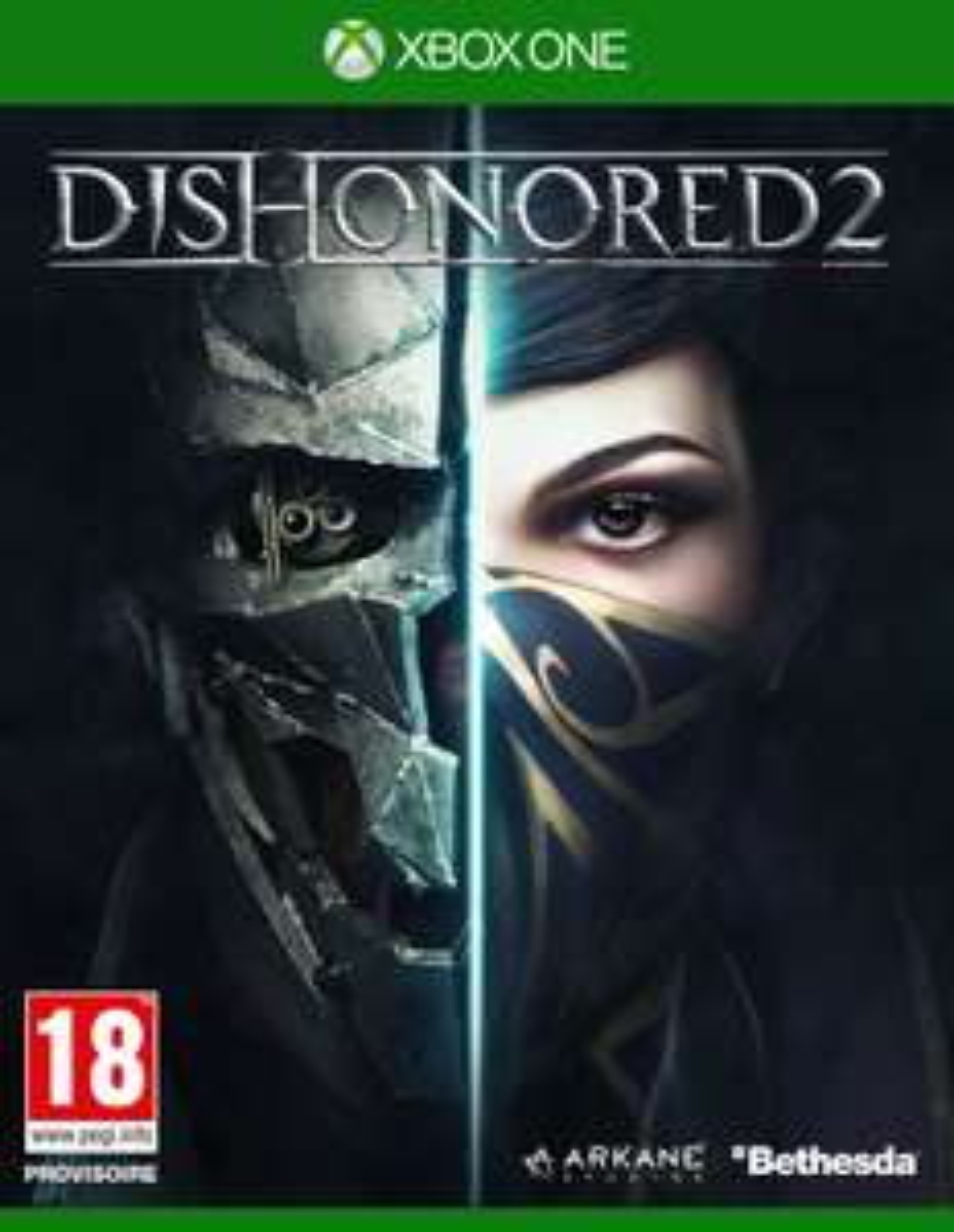 Jeu Dishonored 2 sur Xbox One ( +3.00€ en Ticket E.Leclerc)