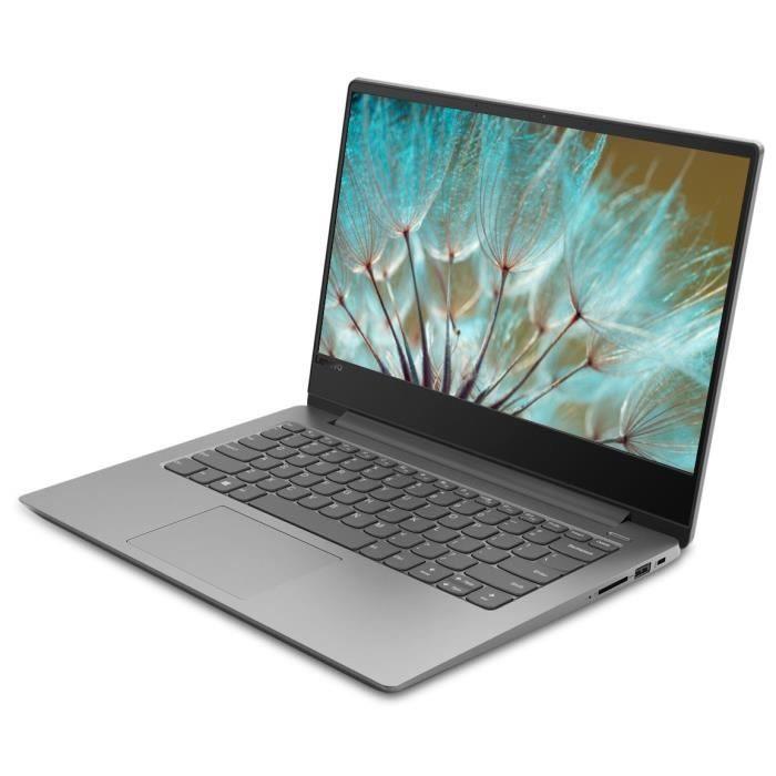 """PC Portable Ultrabook 14"""" Lenovo Ideapad 330S-14IKB - HD, i3-7130U, RAM 4 Go, SSD 512 Go, Windows 10 + Norton 360 Deluxe (+ Offre Spéciale)"""