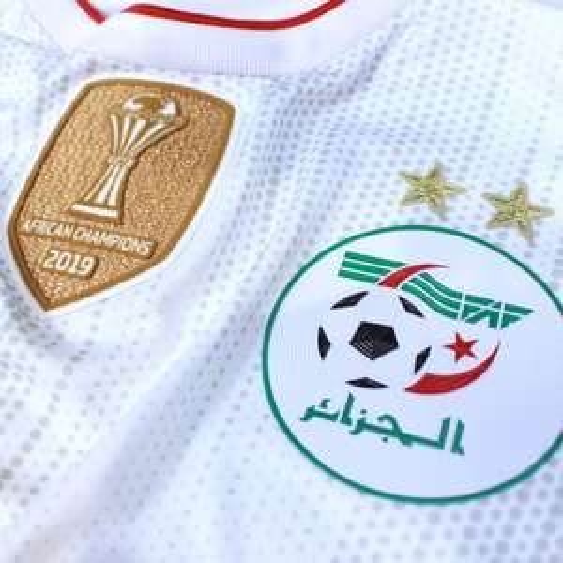 Maillot de match authentique de l'équipe d'Algérie - Domicile, Edition Champion - DZFanStore.com
