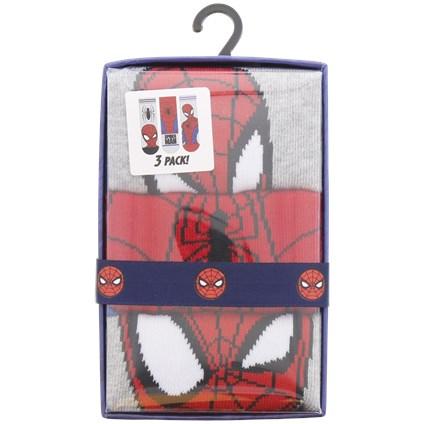 Coffret cadeau chaussettes - Ex : 3 Paires de chaussettes Spider-Man ou La Reine des Neiges pour enfants
