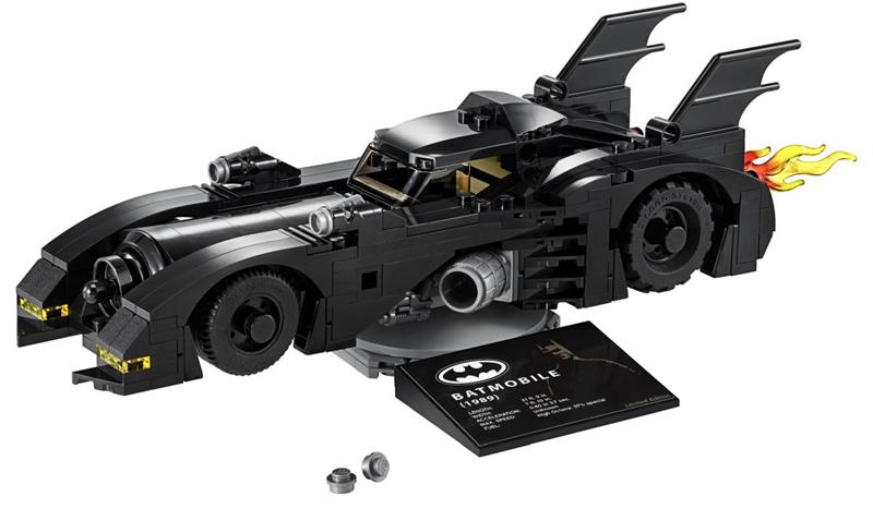 Sélection d'offres promotionnelles - Ex : set Batmobile Limited Edition 1989 (40433) offert pour l'achat du set Batmobile 1989 (76139)
