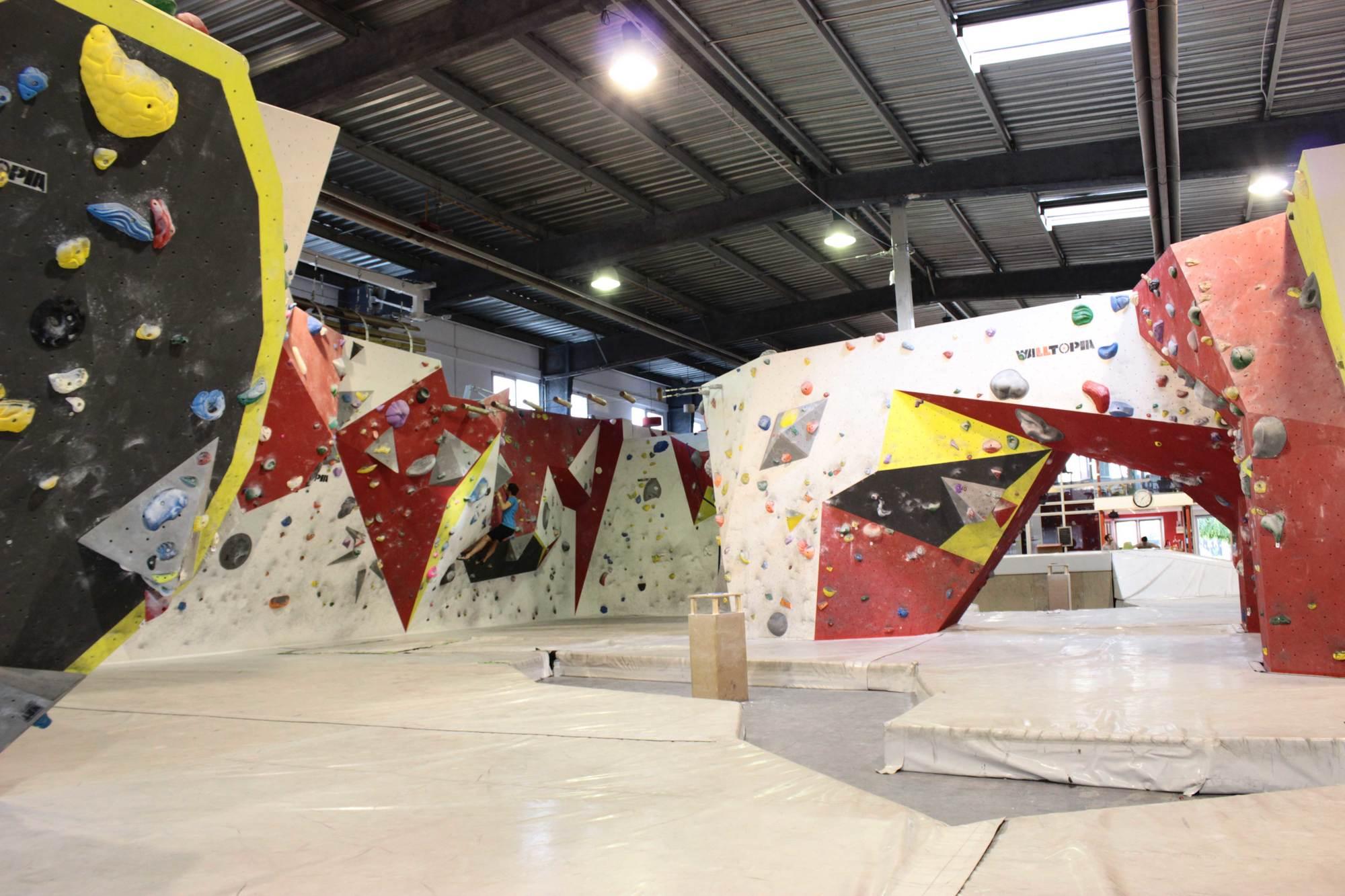 Une entrée pour un adulte au centre sportif d'escalade Hardbloc (1150m2) - Alfortville (94)
