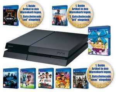Pack Console Sony Playstation 4 1 To (châssis C) + Little Big Planet 3 + 1 jeu au choix parmi une sélection