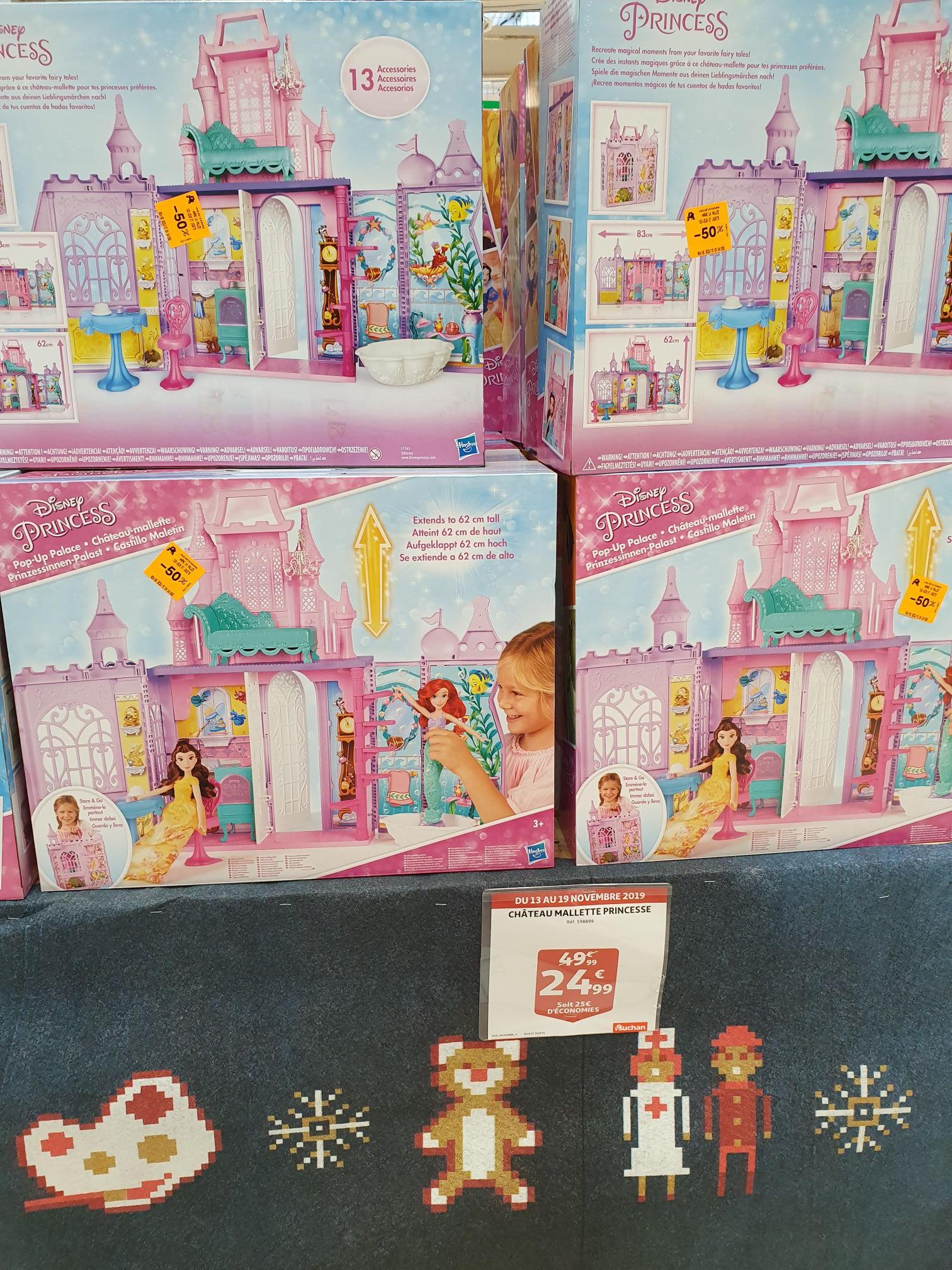 Château Mallette pour Disney Princesses Poupées - 30cm, Val d'Europe (77)