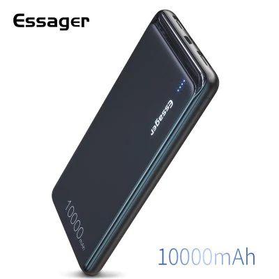 Batterie externe Essager - 10000mAh, Entrée micro USB + USB-C