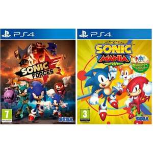 Sonic Double Pack - Sonic Forces + Sonic Mania Plus sur PS4