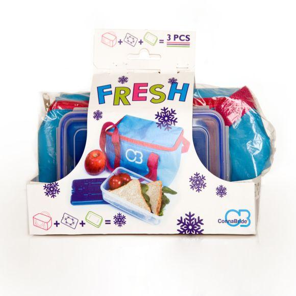 3€ de réduction sur tout le site (Hors Marketplace) - Ex : 1 sac isotherme 3L, 1 bloc réfrigérant 200g et 1 boite lunch box 750 ml
