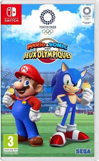 Jeu Mario et Sonic aux jeux olympiques: Tokyo 2020 sur Nintendo Switch (35.99€ avec le code WELCOME19)