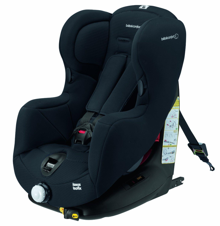 Siège auto Bébé Confort Iseos Isofix Total BlackGroupe 1 (9-18 kg)