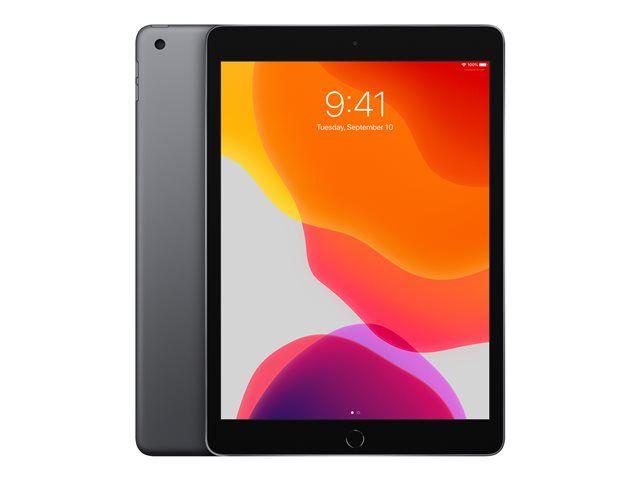 """Tablette 10.2"""" Apple iPad 2019 - 128 Go, Gris"""