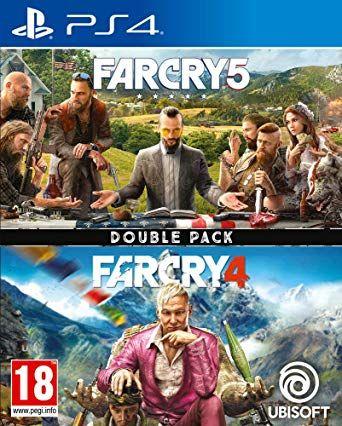 Jeux Far Cry 4 + Far Cry 5sur PS4