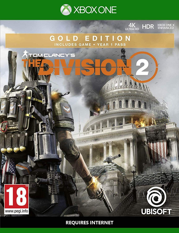 Jeu The Division 2 - Édition Goldsur Xbox One et PS4