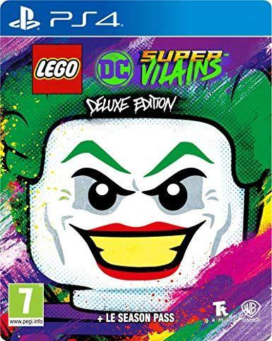 Lego DC Super-Vilains - Edition Deluxe sur PS4 (+1,15€ en SuperPoints)