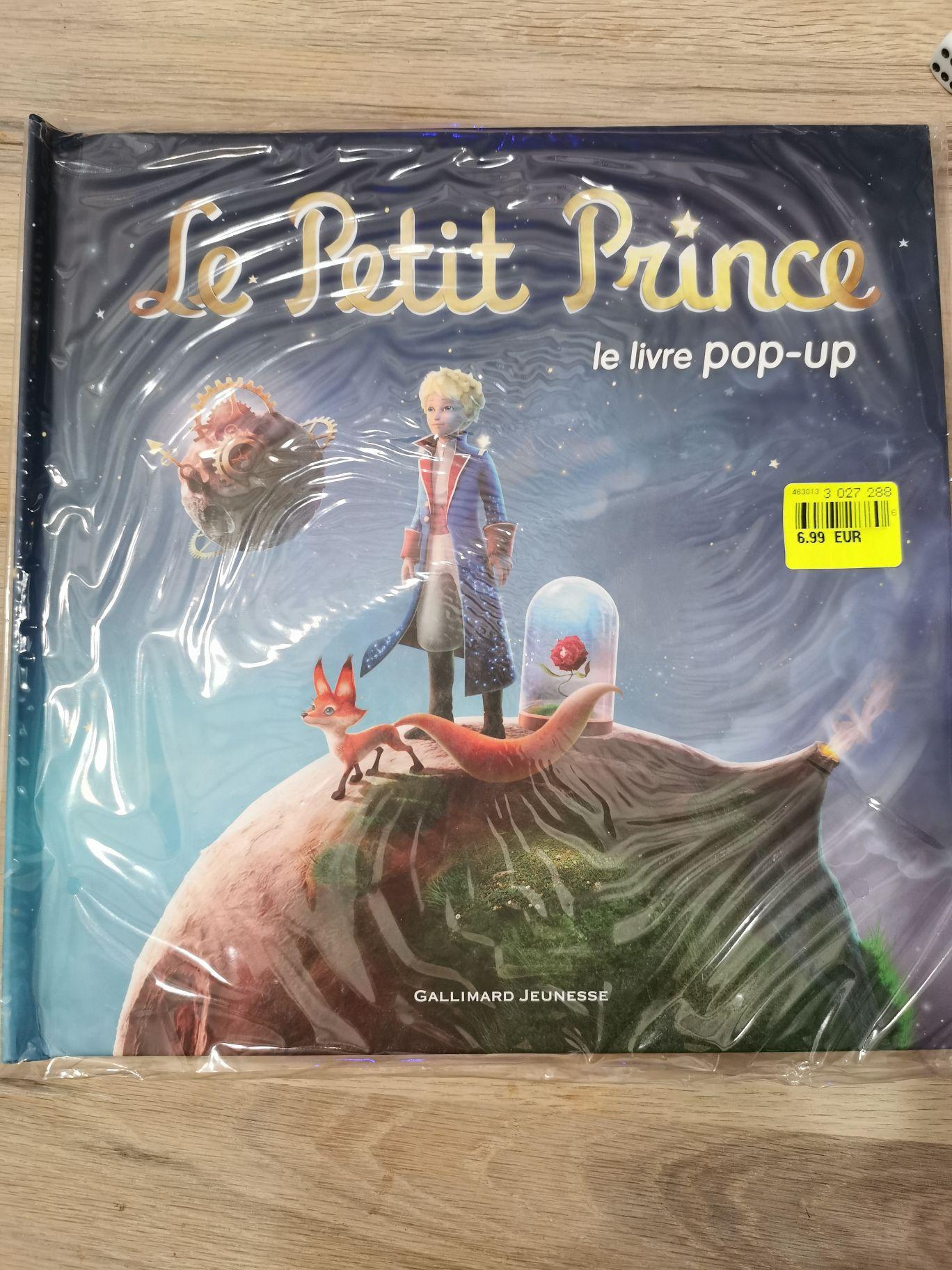 Livre Le Petit Prince à pop-up - Angers (49)