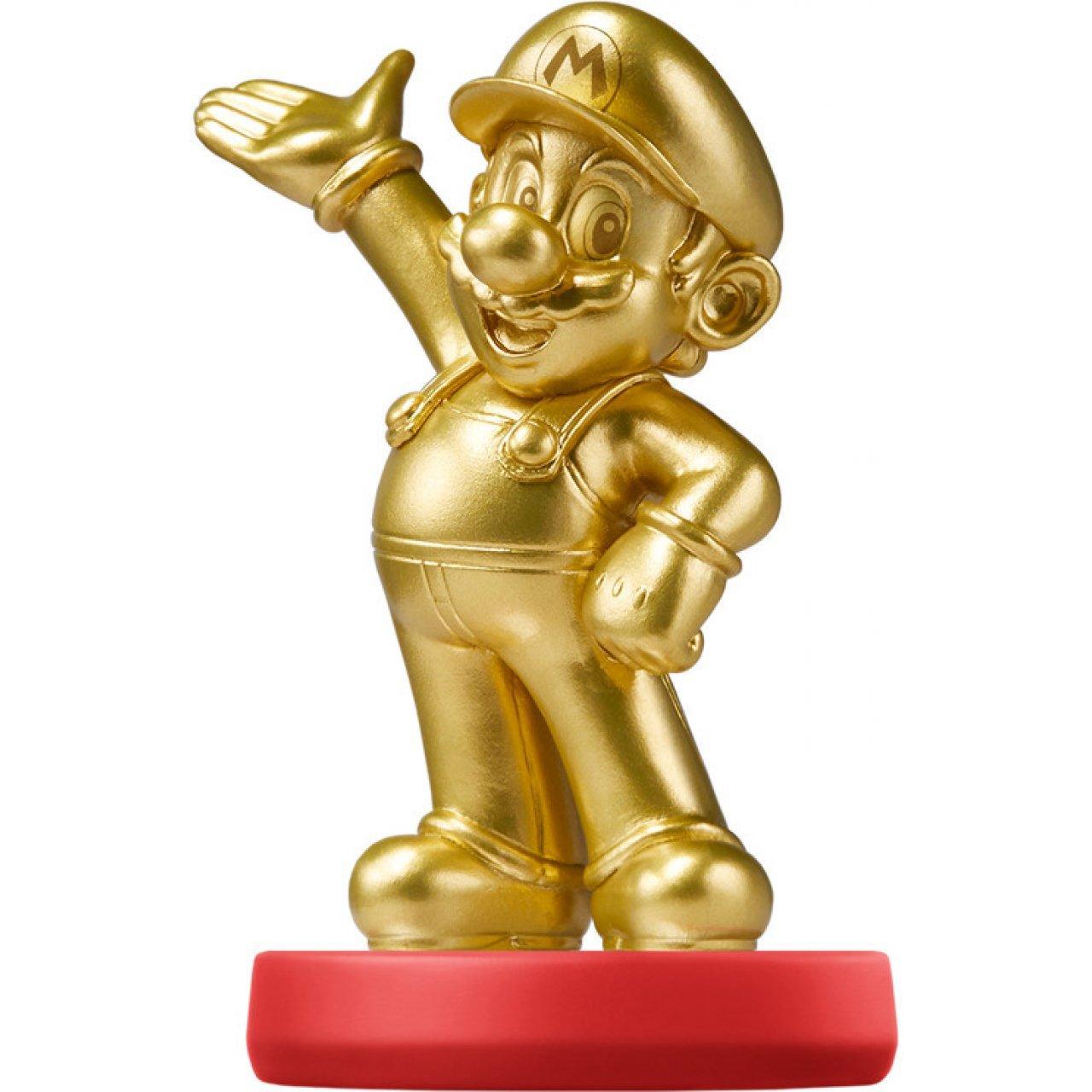 Amiibo Super Mario Version Or