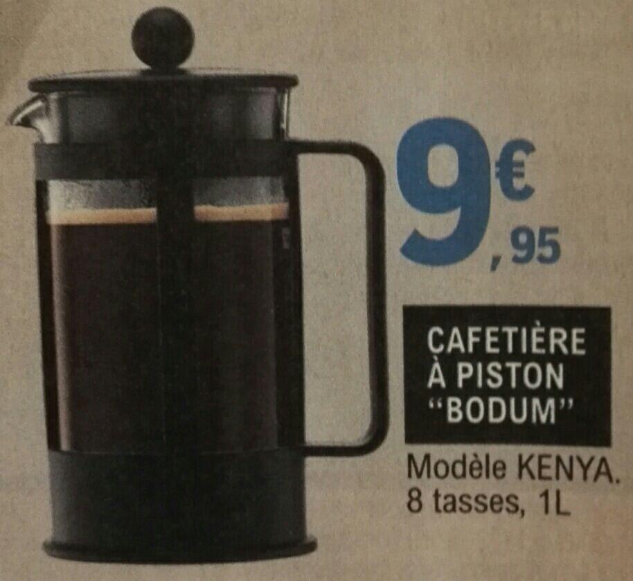 Cafetière à piston Bodum Kenya - 8 Tasses, 1L