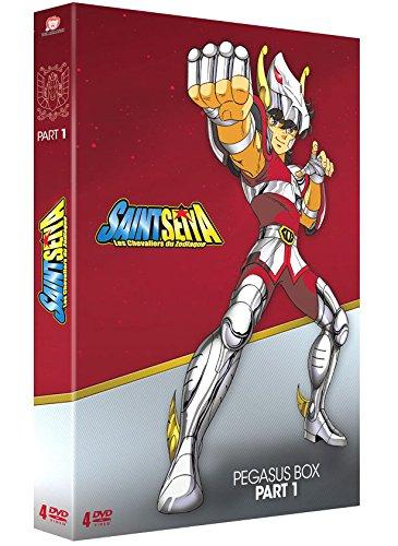 Coffret DVD : Saint Seiya Les Chevaliers du Zodiaque l'Intégrale Collector Pegasus Box - Part. 1