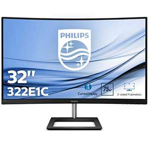 "Ecran PC 32"" Philips 322E1C/00 - Incurvé, Full HD, Dalle VA, 75Hz, FreeSync"