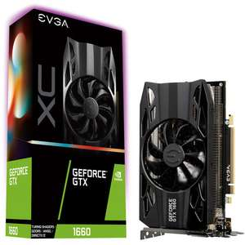 Carte Graphique EVGA GeForce GTX 1660 XC Gaming - 6 Go