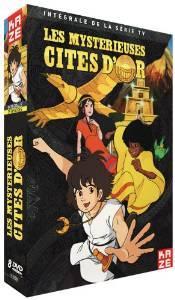 Coffret DVD Les Mystérieuses Cités d'or - Intégrale Édition remasterisée