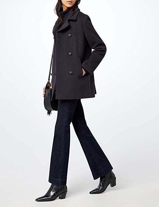 Manteau Caban Armor Lux pour Femmes - Tailles au choix