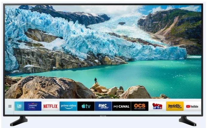 """TV LED 75"""" Samsung UE75RU7025 - UHD 4K, HDR, Smart TV (Via 100 € sur Carte de Fidélité )"""