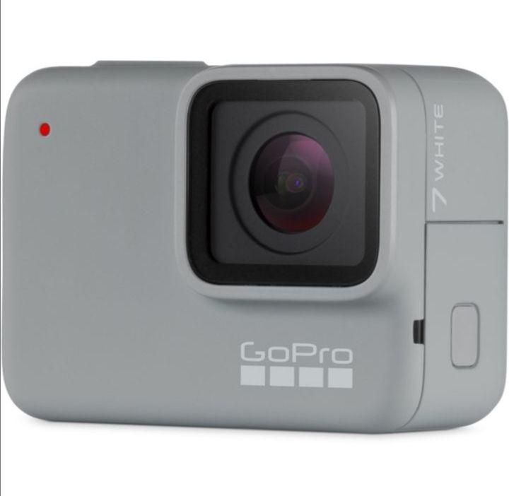 Caméra sportive GoPro Hero 7 White (via 20€ sur la carte fidélité)