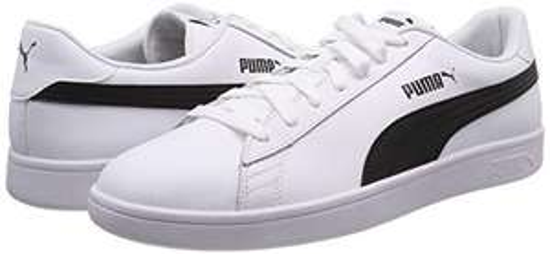 Chaussures Puma Smash V2 Leather - blanc (du 40 au 47)
