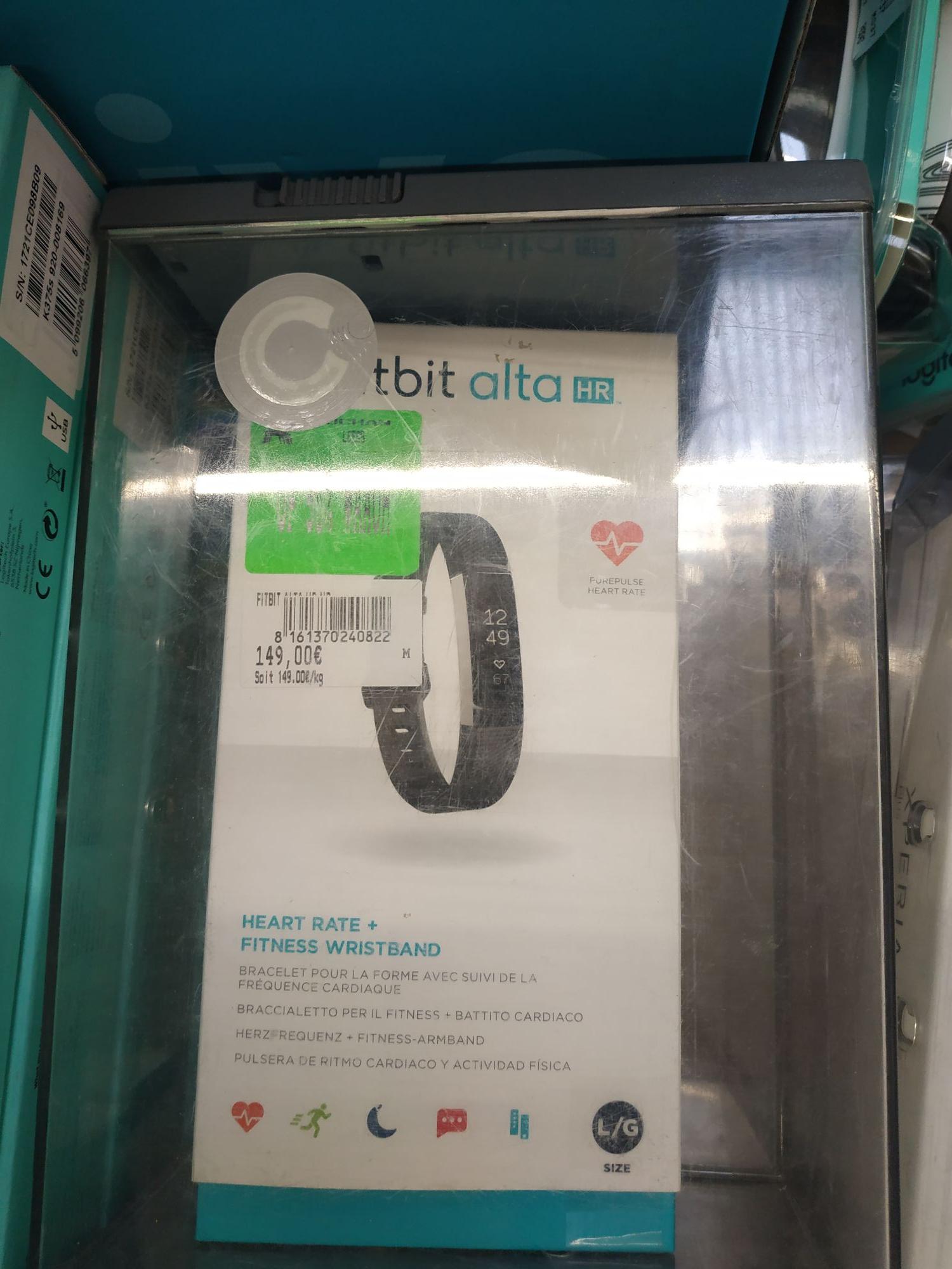 Bracelet connecté Fitbit Atla HR (via 74.95€ sur la carte fidélité) - Leers (59)