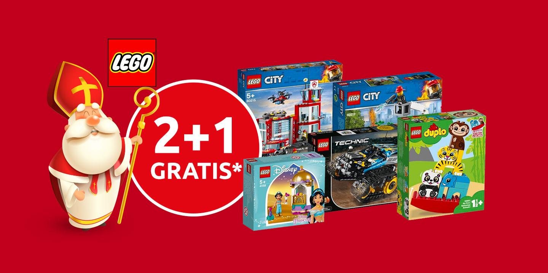 2 jeux vidéo ou 2 jouets Lego achetés parmi une sélection = 1 offert (le moins cher) - frontaliers Belgique