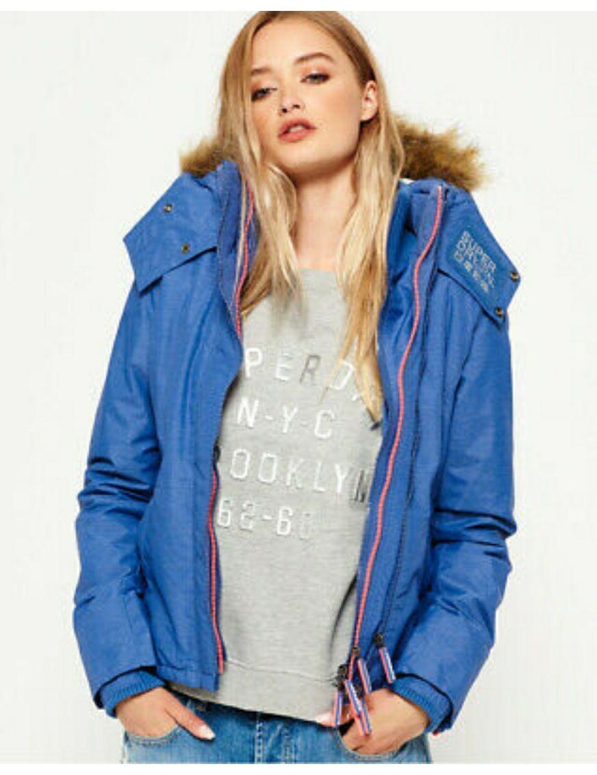 Veste zippée à capuche Superdry SD-Wind Attacker pour Femmes - Taille au Choix