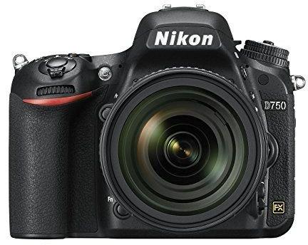 Kit Appareil photo numérique Nikon D750 Reflex 24,3 Mpix + Objectif 24-85 mm (Noir)