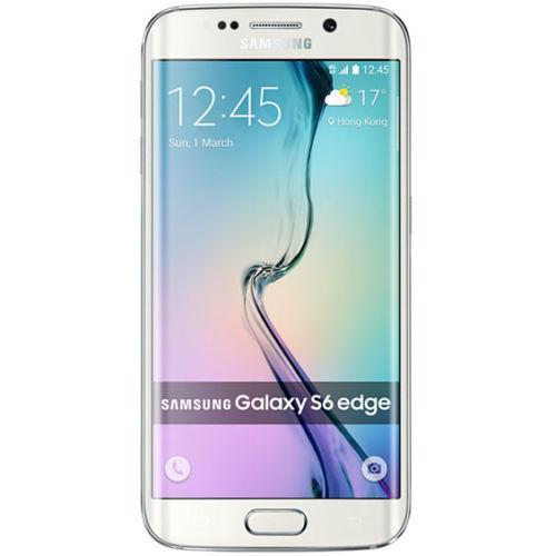 Smartphone Samsung Galaxy S6 Edge G925F - Blanc - 32 Go