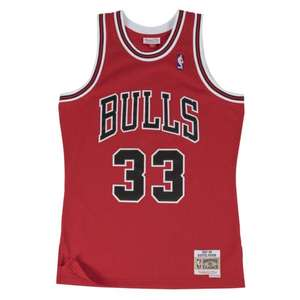 Maillot Mitchell and Ness Scottie Pippen Chicago Bulls
