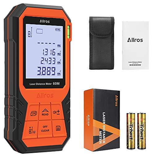 Télémètre Laser Numérique Portable compact Allros - Portée 100m (vendeur tiers)