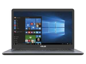"PC Portable 17.3"" Asus X705BA-BX048T - A6-9225, 12 Go de RAM, 1 To HDD, AMD Radeon R4 Graphics, Windows 10"