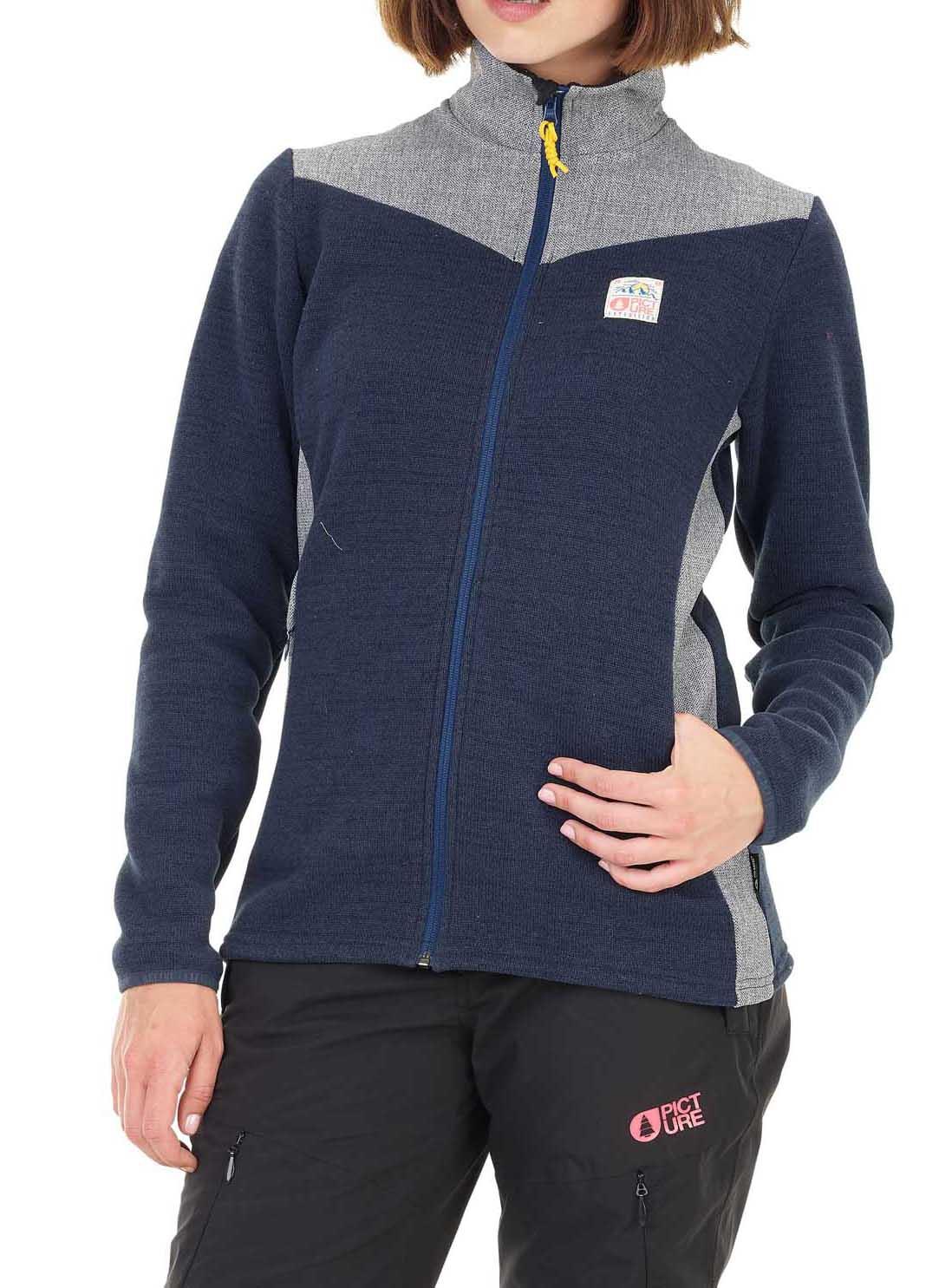 Veste polaire Wakay Jkt Picture Organic Clothing pour Femmes - Tailles S à L