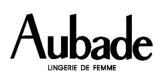 """-40% sur la collection """"Tentations d'Aubade"""""""