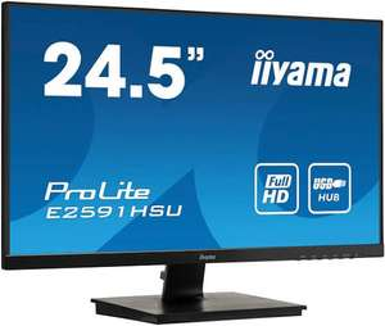 "Écran PC 25"" iiyama ProLite E2591HSU-B1 - 1080p, 75Hz, FreeSync, 1ms (104€ via le code BLACKFRIDAY19)"