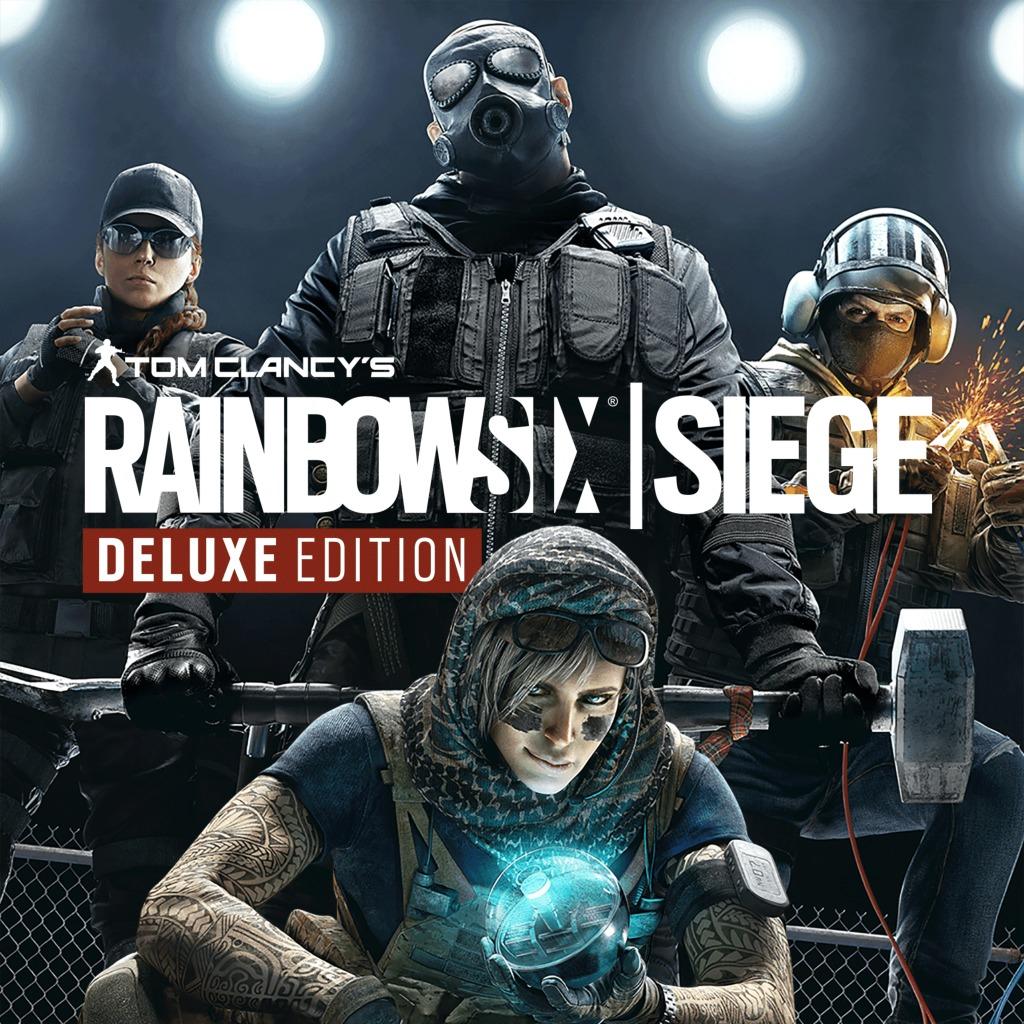 Tom Clancy's Rainbow Six Siege Deluxe Edition sur PS4 (Dématérialisé)