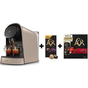 Machine café Philips LM8012/10 + 1 paquet L'OR Barista Double Splendente capsules + 1 paquet de capsules L'Or Espresso Supremo